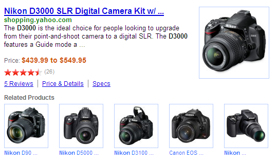 Yahoo! Shopping DD Related Products Nikon d3000
